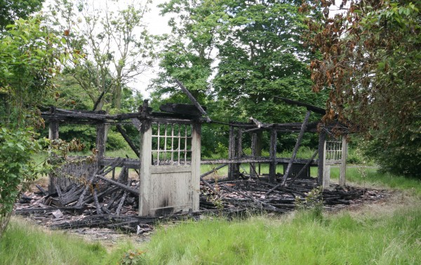 Severalls burnt airing court shelter
