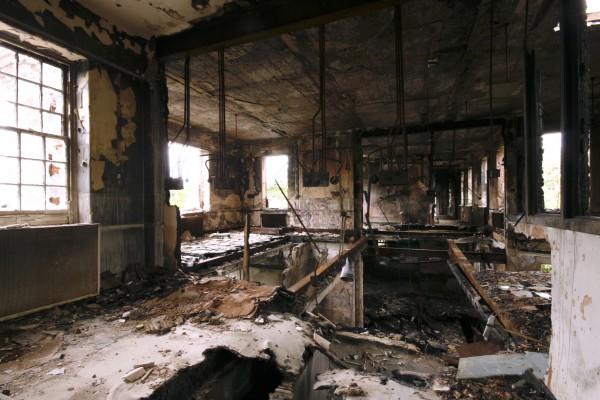 Severalls burnt ward