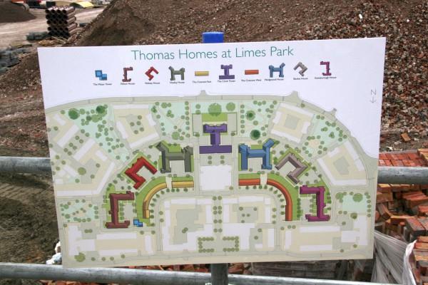 Thomas Homes map